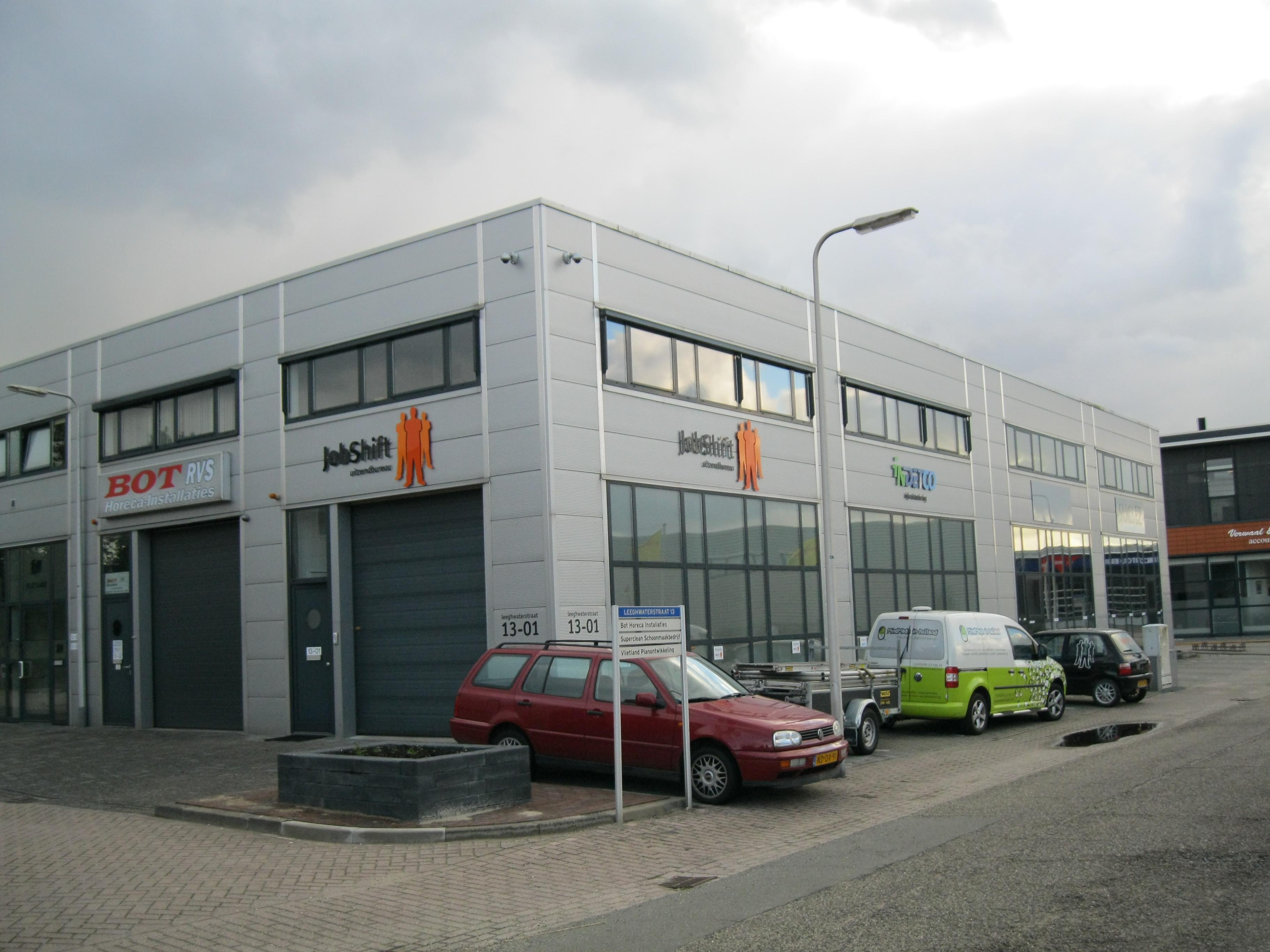 gevelreclame Jobshift Reeuwijk