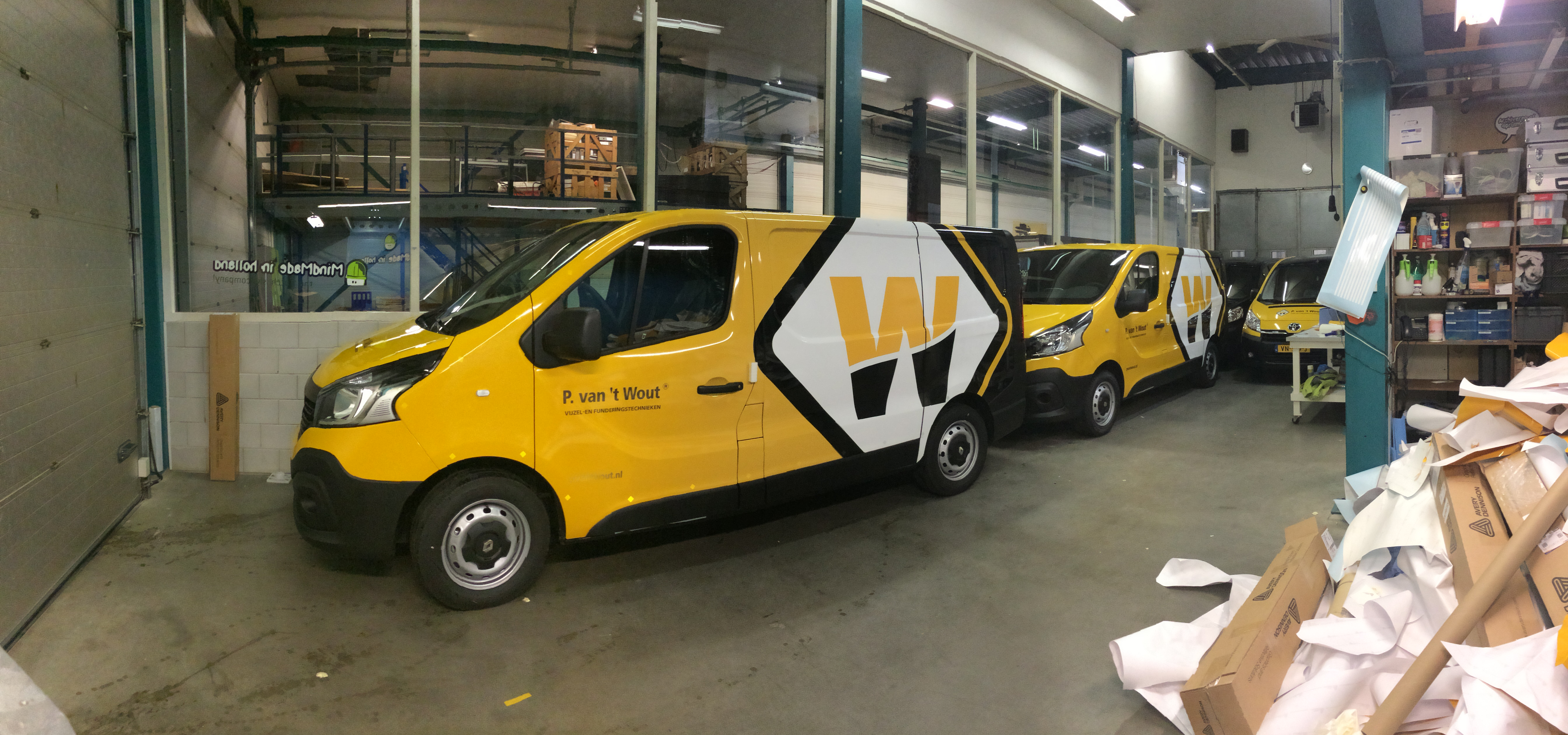 Renault Trafic P. van 't Wout
