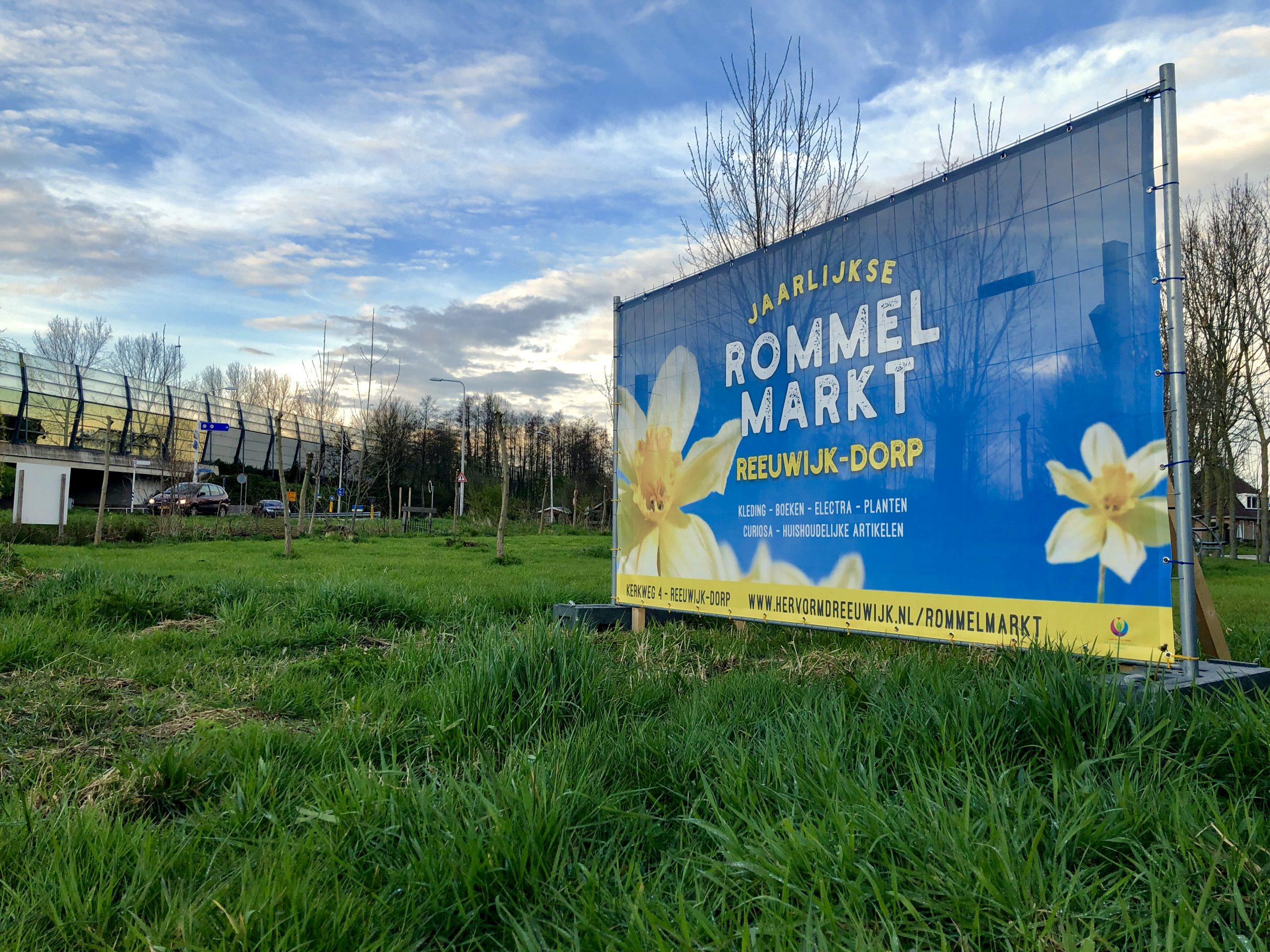 Bouwhekdoek Jaarlijkse Rommelmarkt Reeuwijk