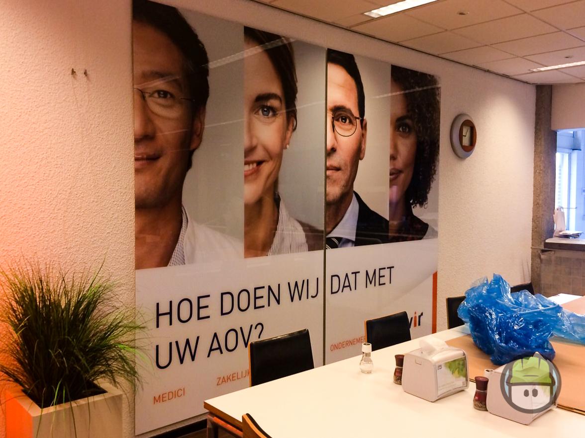High gloss panelen Menzis Nieuwegein