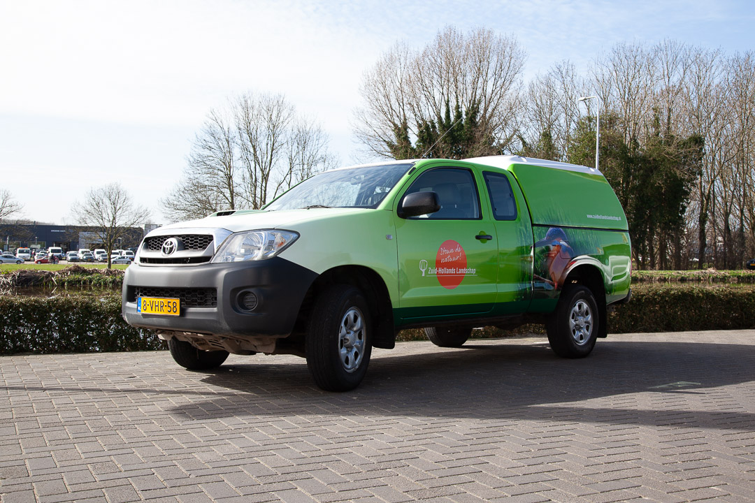 Zuid-Hollands Landschap Toyota Hilux