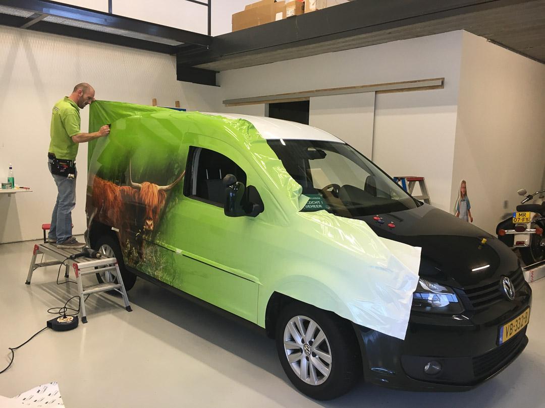 Zuid-Hollands Landschap VW Caddy