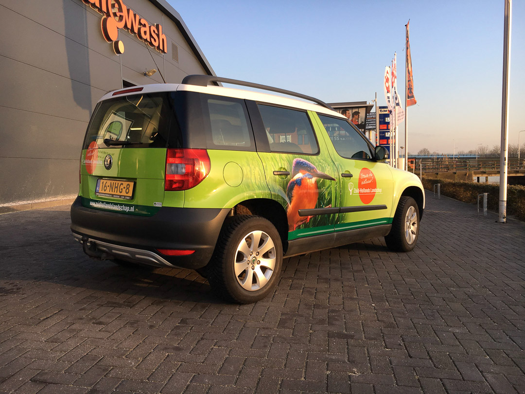 Zuid-Hollands Landschap Skoda Yeti